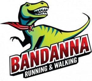 Bandanna Running and Walking logo