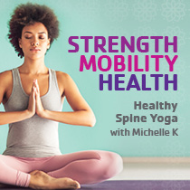 Healthy Spine Yoga with Michelle K at the Downtown Boise YMCA