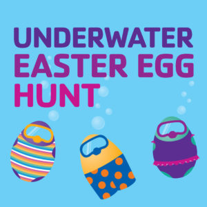 Underwater Easter Egg Hunt