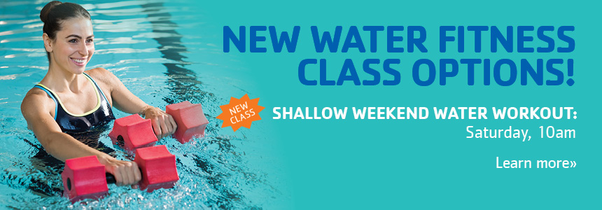 Shallow Weekend Water Fitness