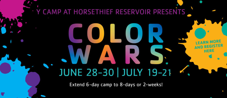 Color Wars June 28-30 and July 12-21
