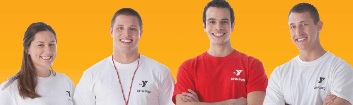 YMCA lifeguards