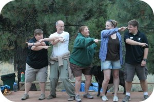 family camp skit