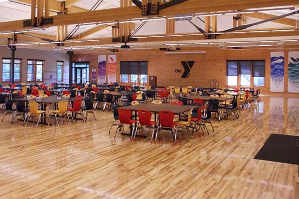 inside of Triple J Lodge