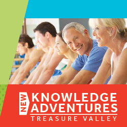 NEW KNOWLEDGE ADVENTURES! Spring Course Catalog for People Over 50