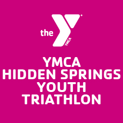 Youth Hidden Springs Triathlon Logo