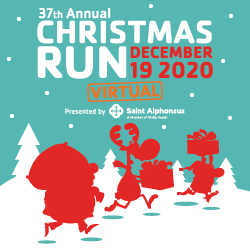 Christmas Run Art