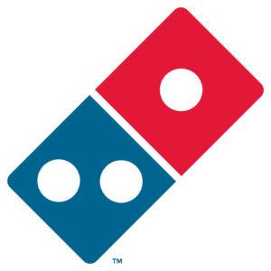 Domino's sponsor logo