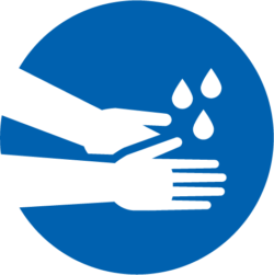 washing hands graphic